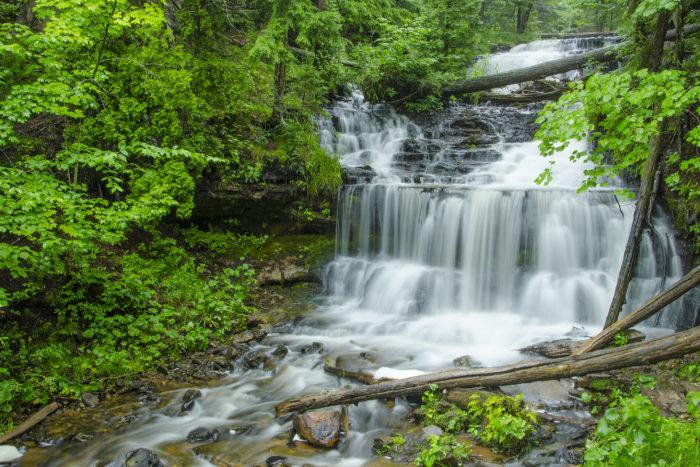 Wagner Falls Scenic Site